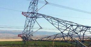Cizre'de Koca Elektirik Direğini Yerinden Kimler Ne Amaçla Söktü!