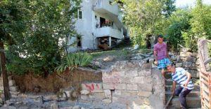Devrek'te Heyelan 124 Kişiyi Evinden Çıkardı