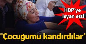 Hain Saldırıda Ölenlerin Yakınları HDP'ye Öfke Kustu