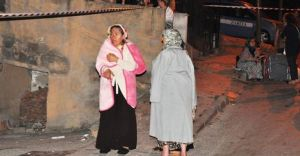 İstanbul'da ŞOK! İnşaatta Toprak Kayması Oldu Çok Sayıda Bina Boşaltıldı
