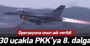 Kuzey Irak'ya PKK'ye 8. Operasyon Başladı ! İşte Detaylar
