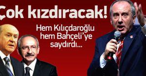 Muharrem İnce Kılıçdaroğlu ve Bahçeli'yi Yerin Dibine Soktu