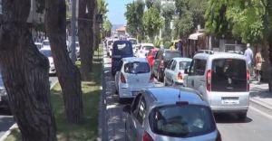 Tatilciler Geri Döndü Çanakkale'de Feribot Patlaması Yaşandı