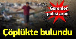 Adana Çöplüğünde Dehşet! Gören Polisi Askeri Aradı!