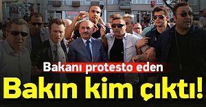 Bakanı Protesto Eden Kişi Bakın Kim Çıktı! Doğan ve Gülen Medyası VATANDAŞ Demişti!