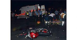 Çorlu'da Motosiklet Kazası! Yine Ölüm