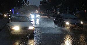 Ağustos Ayında Yağan Yağmur Edirne'lileri Serinletti