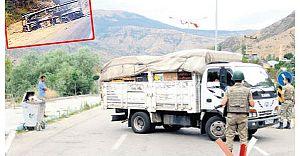 Erzurum'da Minibüs Tarayan PKK, Şoförü Öldürdü