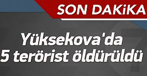 Hakkari'li Vatandaşlar İhbar Etti Asker Vurdu! 5 Terörist Ölü Ele Geçirildi