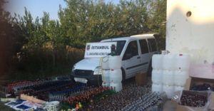 İstanbul'da Jandarma Sahte İçki Operasyonu Gerçekleştirdi