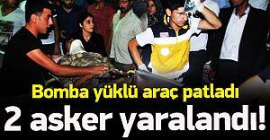 Karakol'a Bomba Yüklü Araçla Saldırı! 2 aSKER..!