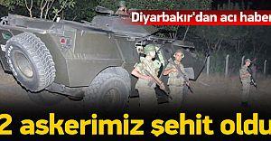 Lice'de 2 Asker Şehit Oldu Onlarca PKK'lı Öldürüldü