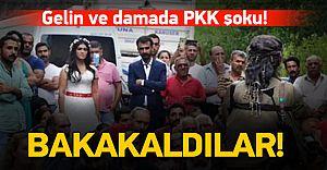 PKK Yol Kesti Gelin ve Damadı Aşağı İndirdi! İşte O Dehşet Görüntüler