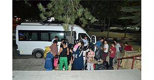 Sahte Plakalı Vasıtada 35 Kaçak!Keşan Şokta