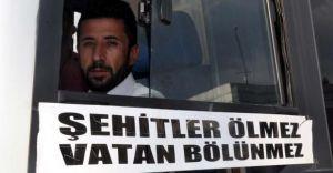 Şehit Cenazesine Ücretsiz Sefer Yapan Otobüs Şoförüne Ceza Kesildi