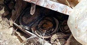 Sivas'ta Çok Sayıda Patlayıcı Ele Geçirildi