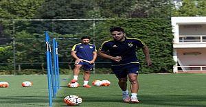 Volkan Şen Fenerbahçe ile İlk Antrenmanına Çıktı
