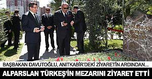 Başbakan'dan Tuğrul Türkeş'e Çifte Sürpriz! Önce Mezar Sonra da..!