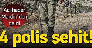 Mardin'de Hain Tuzak! 4 Polis Şehit Düştü