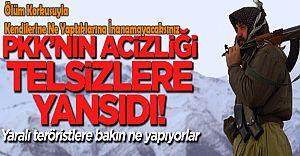 PKK'lı Teröristlerin Ölüm Korkusu İle Kendilerine Ne Yaptığına İnanamayacaksınız!