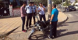Kaymakamın Talimatıyla Motosikletlere Denetim Sıklaştı