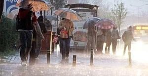 Meteoroloji Sağanak Yağış Konusunda Uyardı
