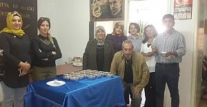 MHP'li Kadınlar Basın Mensuplarına Aşure İkram Etti