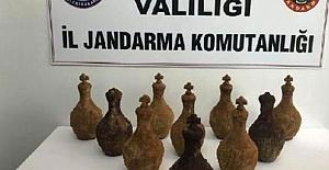Balıkesir'de Tarihi Eser Kaçakçılarına İstasyonda Operasyon