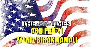 İngiltere'den ABD'ye Skandal Çağrı: PKK'yı Yalnız Bırakma!