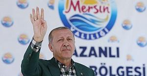 Erdoğan: İnce İnce Ziyaret Yapıyor, Bu Teröre Destek Vermektir!