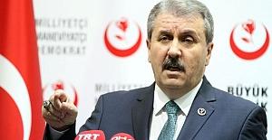 Mustafa Destici: Bana Yumruk Atan Alnının Ortasına Mermiyi Yer!