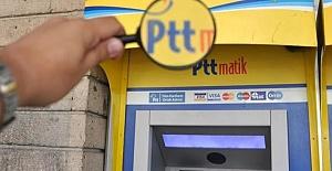 Çipli Kimlik Kartları İle PTT ATM'LERİNDEN Para Çekilebilecek