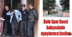 Bonzai Çetesi BOLU Spor Lisesinde Yakalandı!