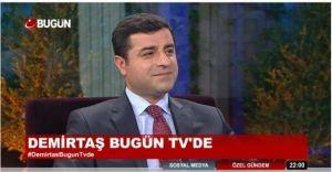 Demirtaş'tan Kobani Değerlendirmesi! Şaşıracaksınız!