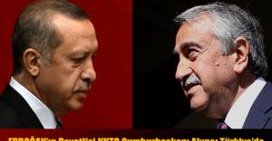 Erdoğan'ın Davetlisi KKTC Cumhurbaşkanı Akıncı Türkiye'de