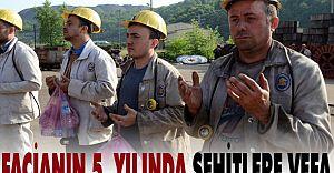 Grizu Faciasının 5. Yılında Maden İşçileri Anıldı