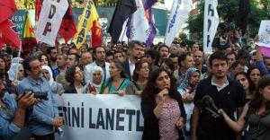 Kobani, Beyoğlu'nda Protesto Edildi!!