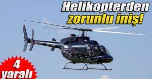 Karacasu'da Helikopter Düştü 7 Kişiden 4'ü Yaralı 3'ü de.!