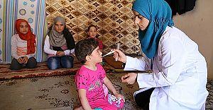 Kassum Hemşire Reyhanlı'da Soydaşlarına Yardım Ediyor!