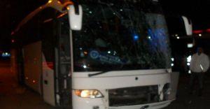 Mardin'den Bursa'ya Dönen Otobüs Kaza Yaptı Facia Kıl Payı Önlendi!