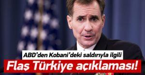 Pentagon'dan Flaş Türkiye DEAŞ Açıklaması