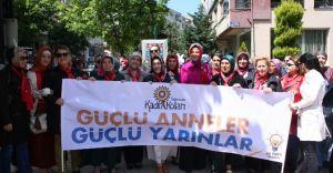 Samsun'da Ak Parti Kadın Kollarından Anneler Günü Yürüyüşü!
