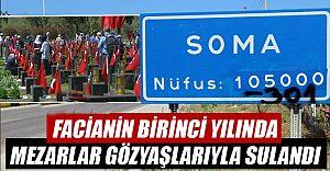 Soma'da Şehitlikler Dolup Taştı!