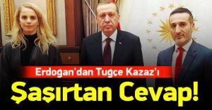 Ünlü Manken Tuğçe Kazaz Reis'i Cumhur ile Görüştü! İşte Detaylar