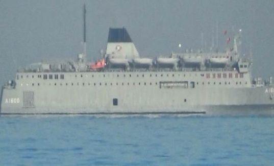Türk Askeri Gemisi İskenderun İskelesine Demirlendi!
