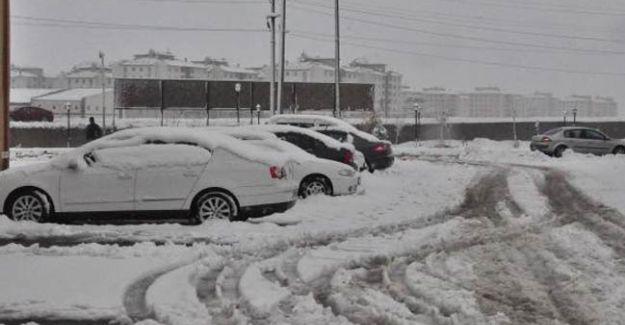 Van'da Kar Yağışı! 98 Mahallenin Yolu Ulaşıma Kapandı!