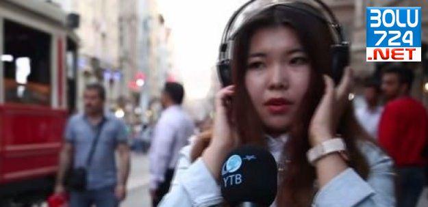 Yabancı Öğrencilerden Çanakkale Türküsü!/İZLE