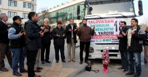 Yalova'da Bir Yardım Sever Bayır Bucak'a 25 Ton Un Gönderdi