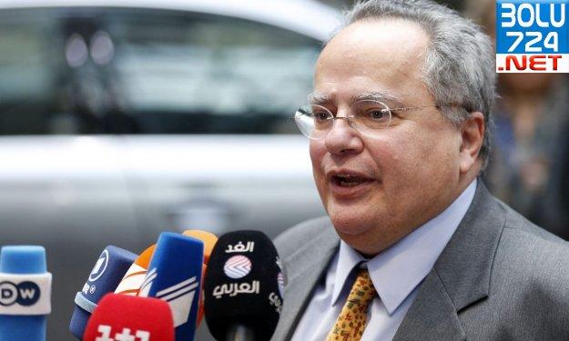 Yunan Dışişleri Bakanı Nikos Kotzias : ''Kıbrıs'ta tek bir Türk askerinin varlığı bile...''